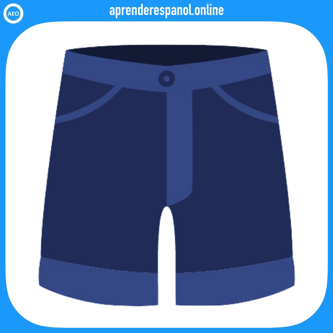 calzoncillos | ropa en español | vocabulario de la ropa en español