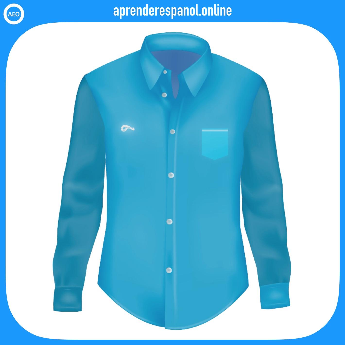 camisa | ropa en español | vocabulario de la ropa en español