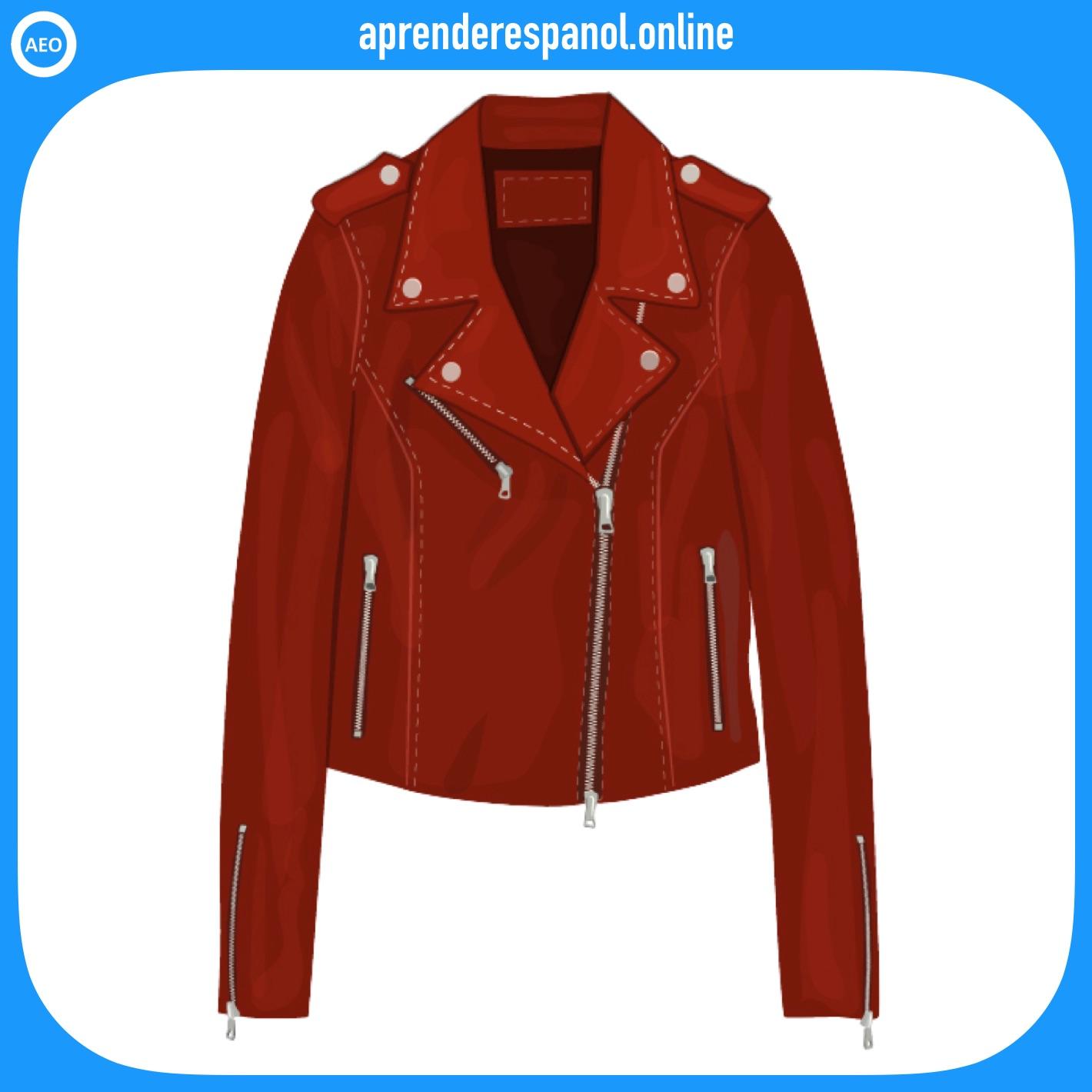 chaqueta | ropa en español | vocabulario de la ropa en español