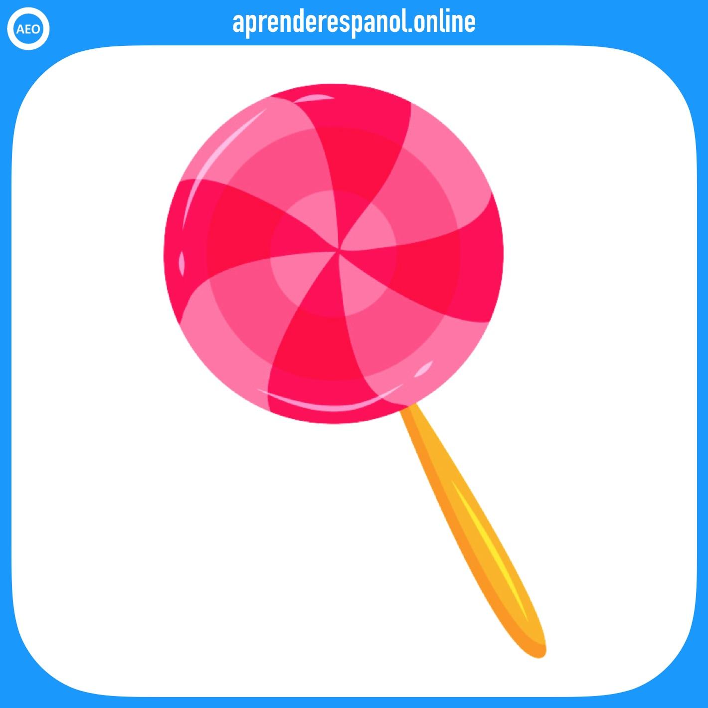 paleta   postres y dulces en español   vocabulario de los postres en español