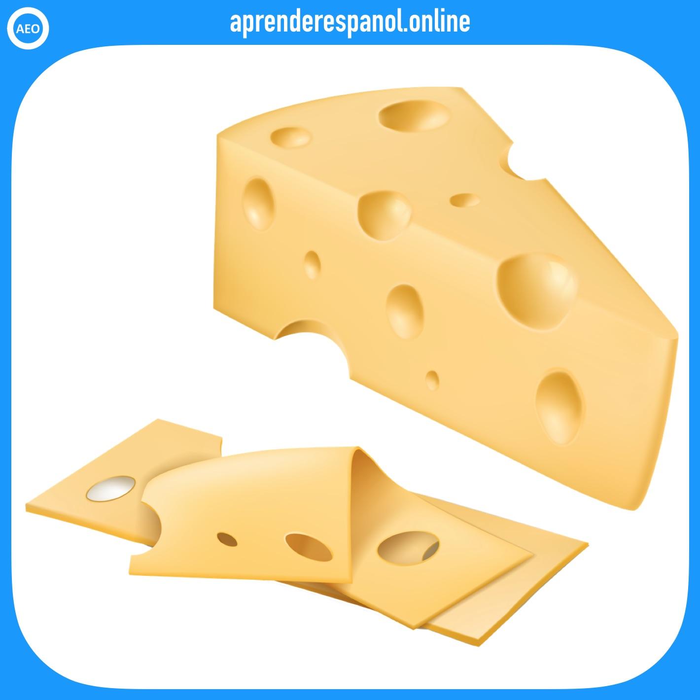 queso   alimentos en español   vocabulario de los alimentos en español