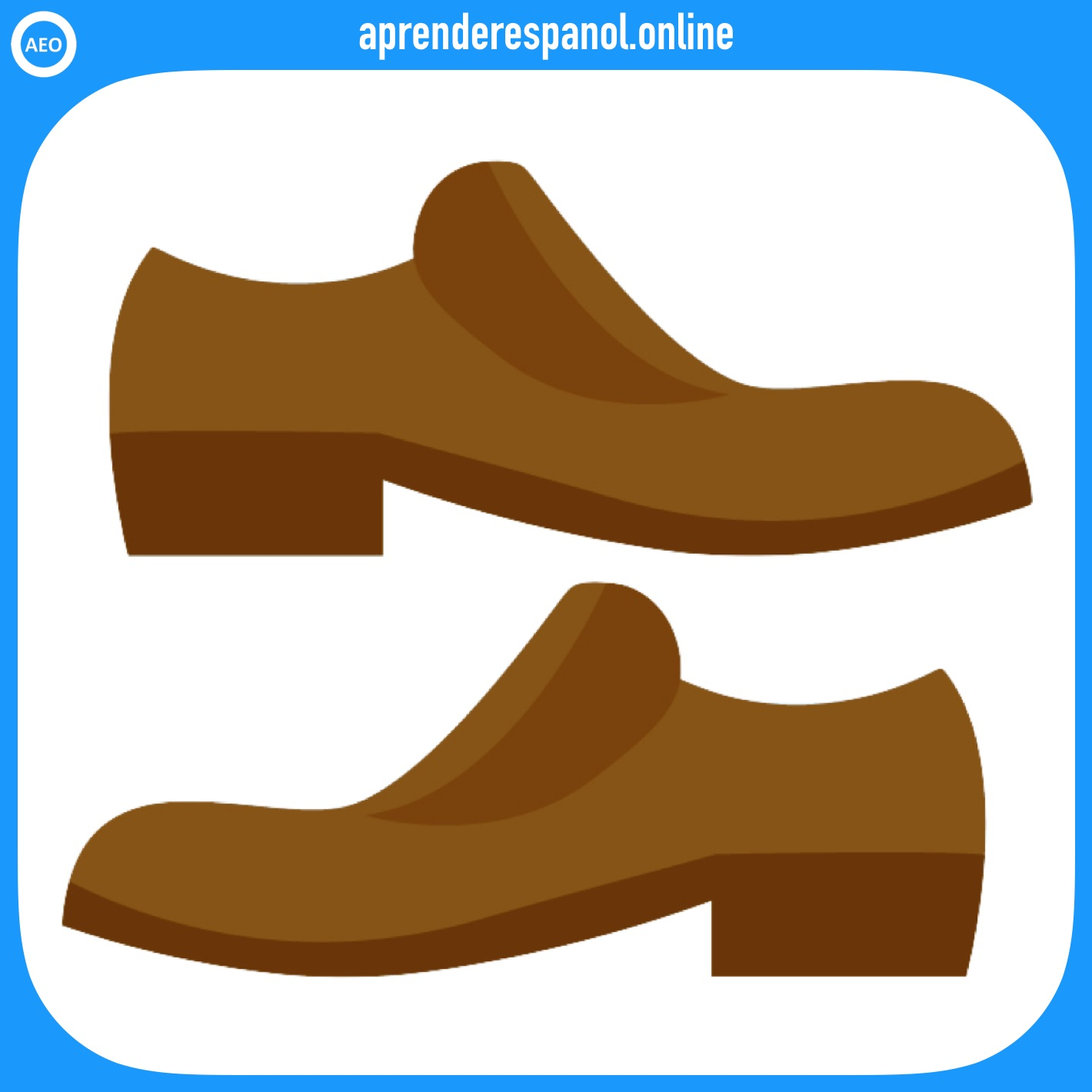 zapatos | ropa en español | vocabulario de la ropa en español